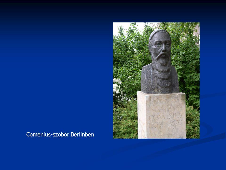 Comenius-szobor Berlinben