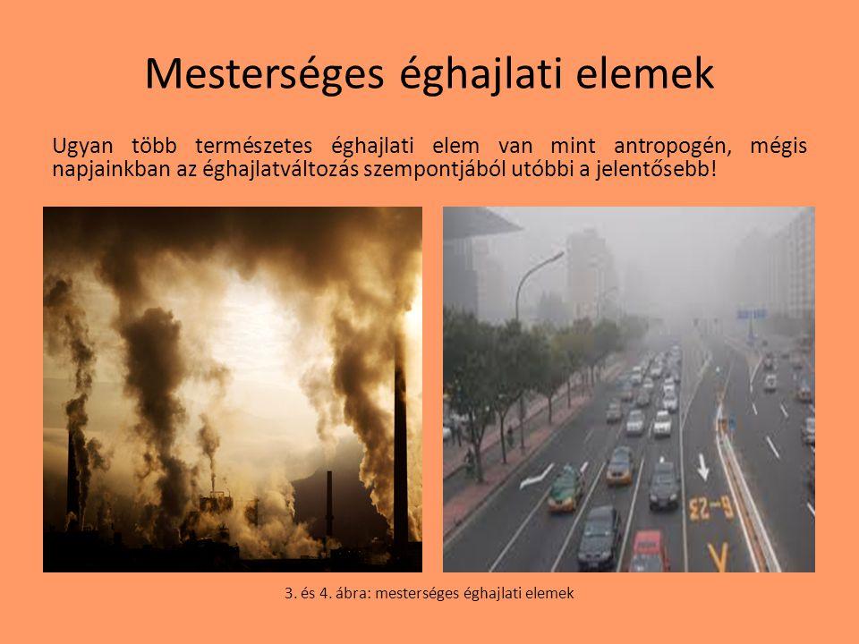 Mesterséges éghajlati elemek