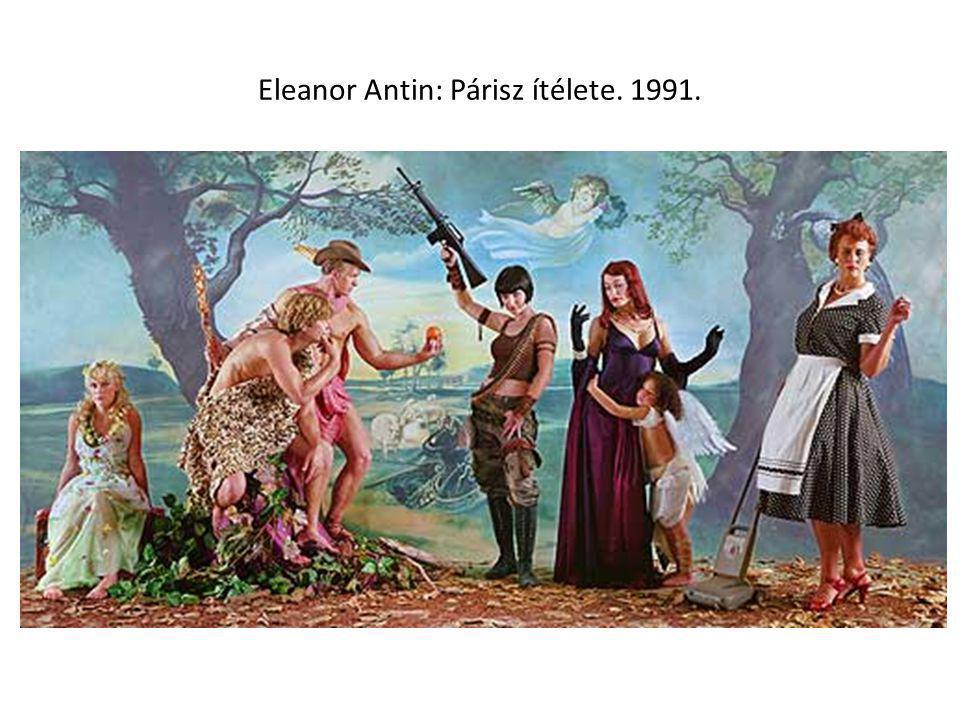 Eleanor Antin: Párisz ítélete. 1991.