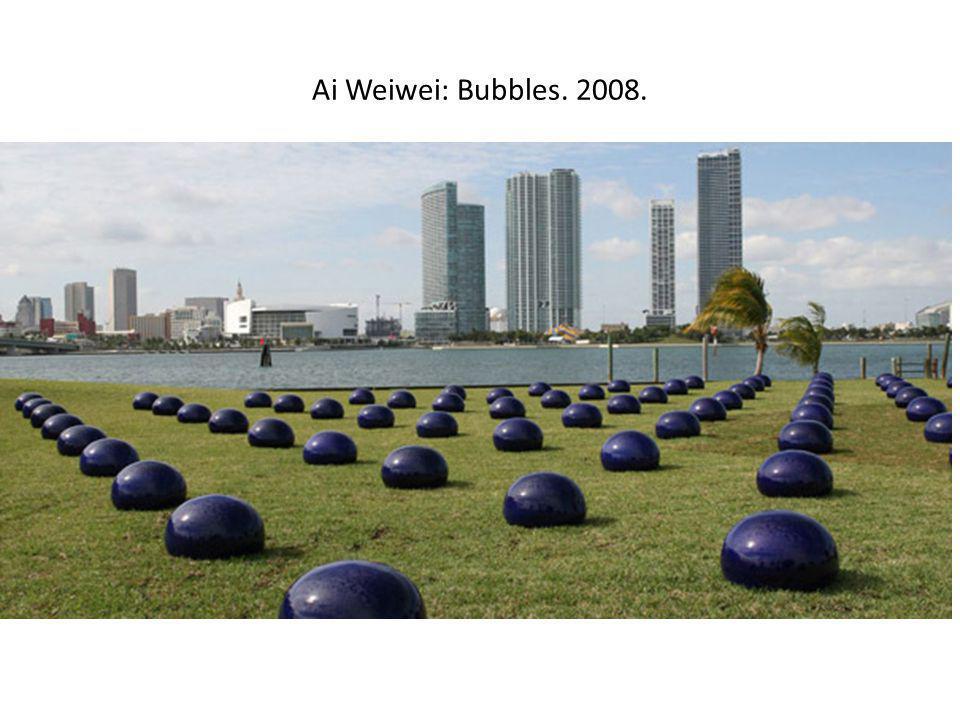 Ai Weiwei: Bubbles. 2008.