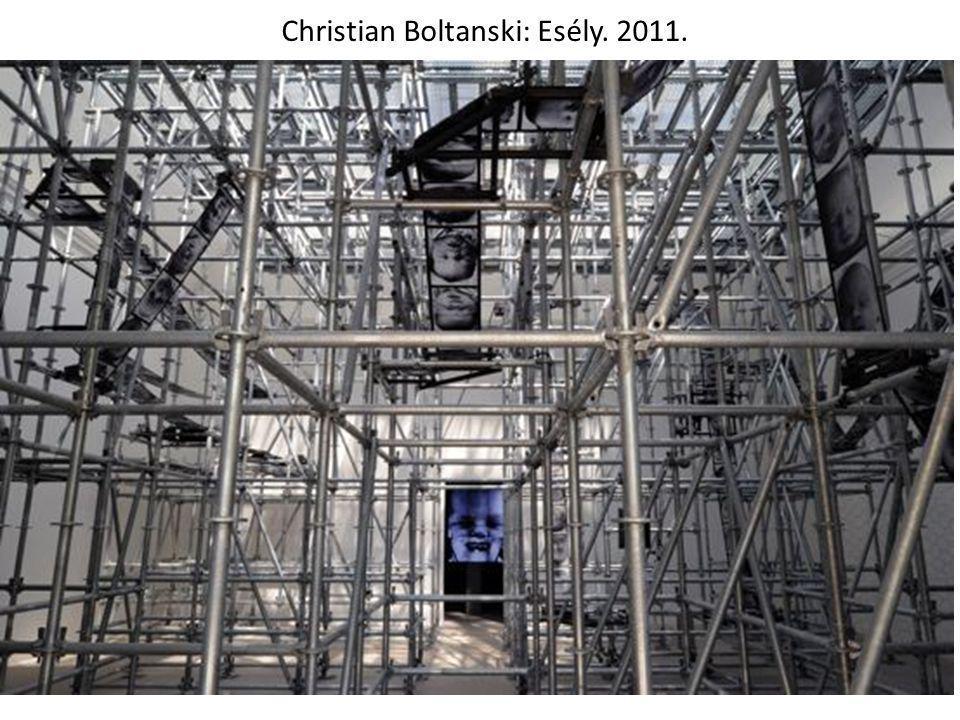 Christian Boltanski: Esély. 2011.
