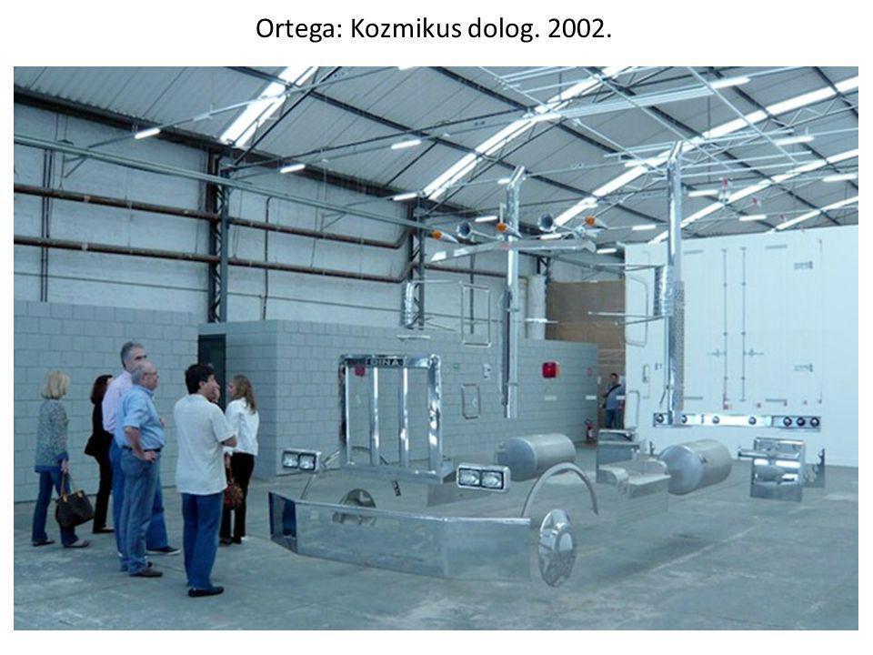 Ortega: Kozmikus dolog. 2002.
