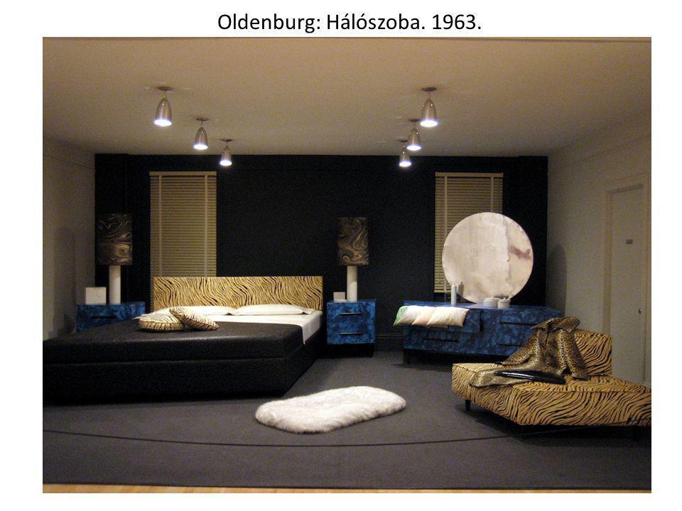 Oldenburg: Hálószoba. 1963.