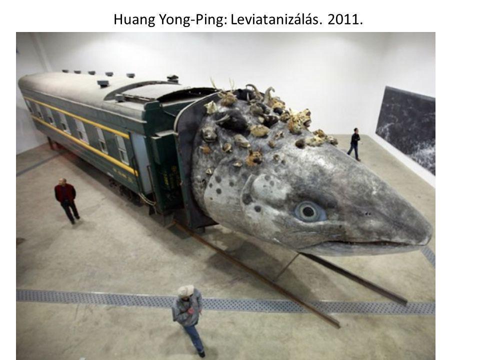 Huang Yong-Ping: Leviatanizálás. 2011.