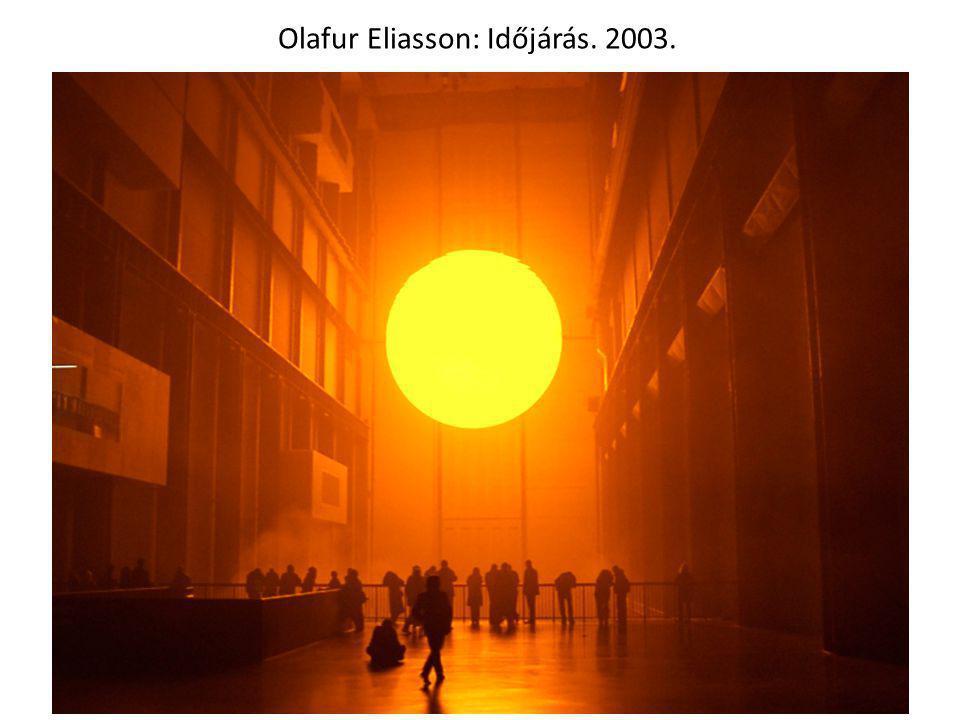 Olafur Eliasson: Időjárás. 2003.