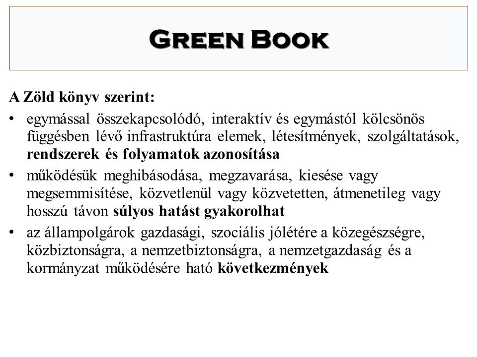 Green Book A Zöld könyv szerint: