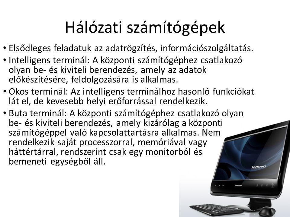 Hálózati számítógépek