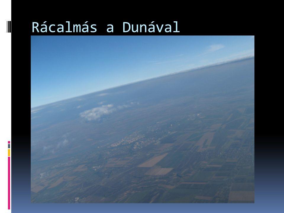 Rácalmás a Dunával