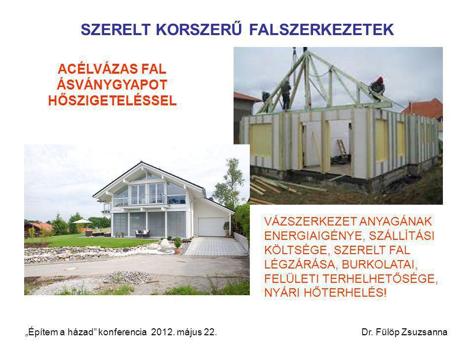 SZERELT KORSZERŰ FALSZERKEZETEK