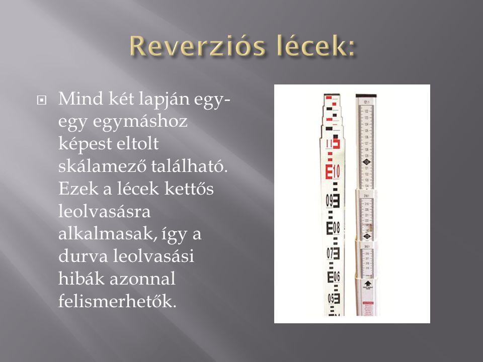Reverziós lécek: