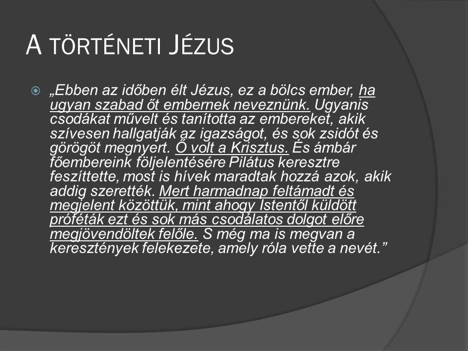A történeti Jézus