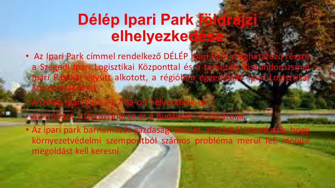 Délép Ipari Park földrajzi elhelyezkedése