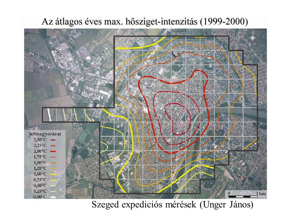 Szeged expediciós mérések (Unger János)