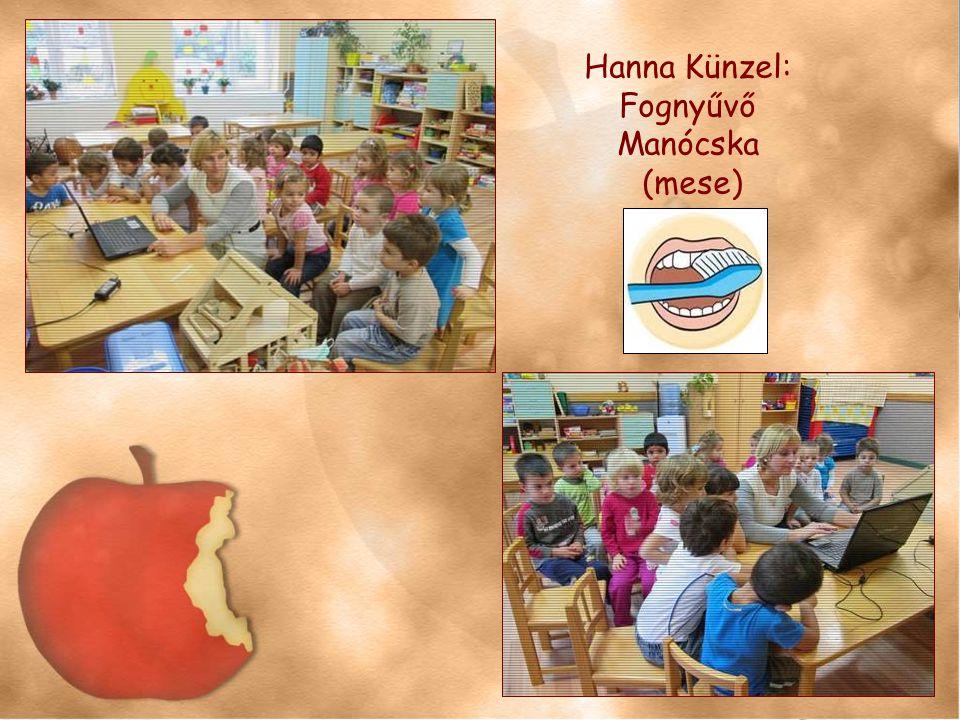 Hanna Künzel: Fognyűvő Manócska (mese)