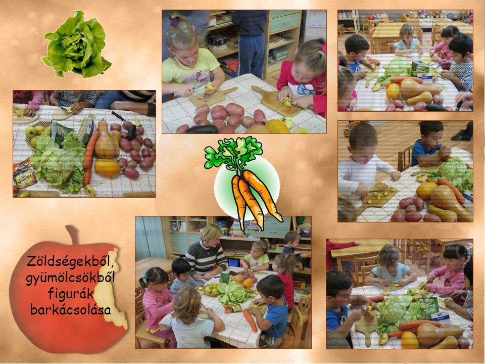 Zöldségekből, gyümölcsökből