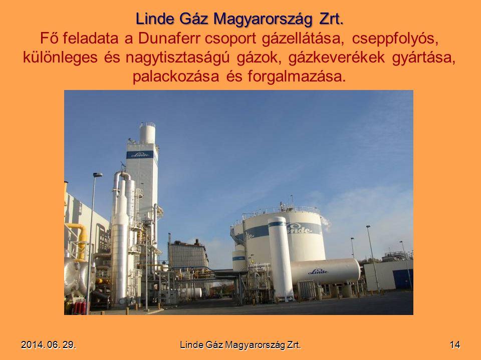 Linde Gáz Magyarország Zrt.