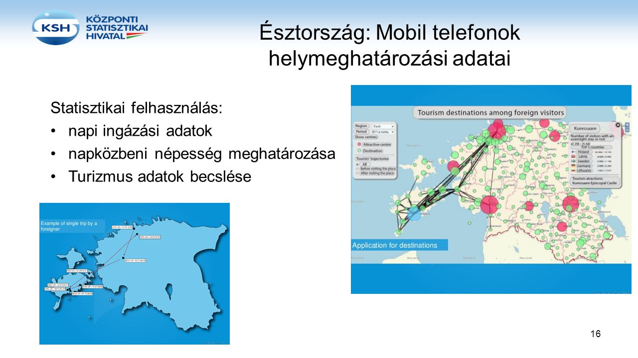 Észtország: Mobil telefonok helymeghatározási adatai