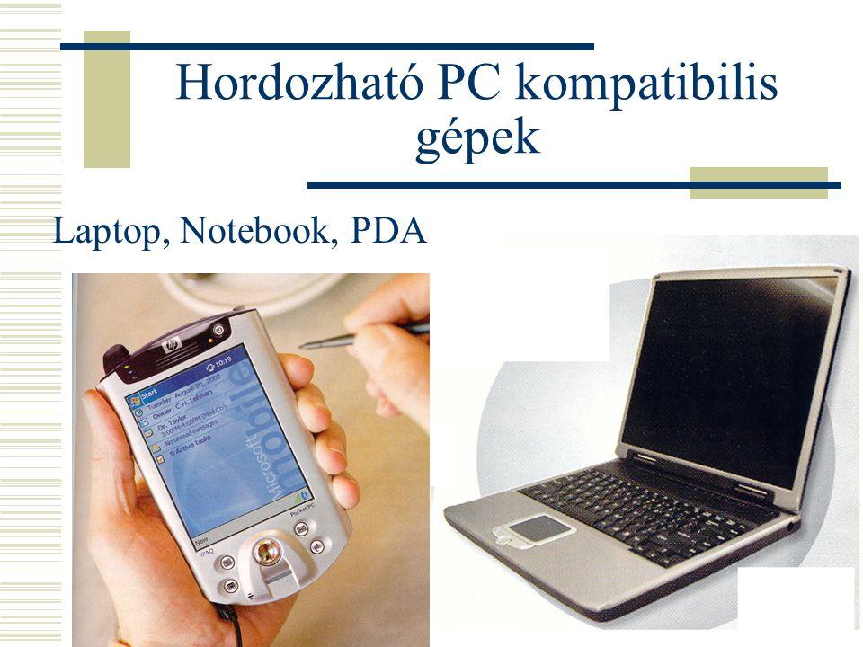 Hordozható PC kompatibilis gépek