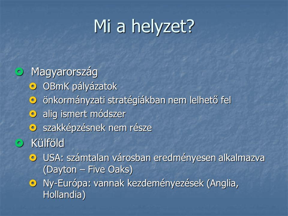 Mi a helyzet Magyarország Külföld OBmK pályázatok