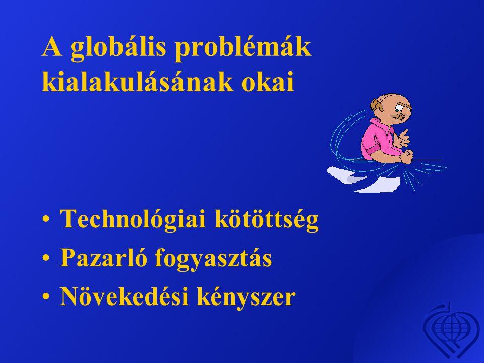 A globális problémák kialakulásának okai