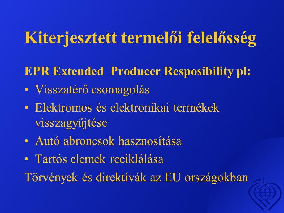 Kiterjesztett termelői felelősség