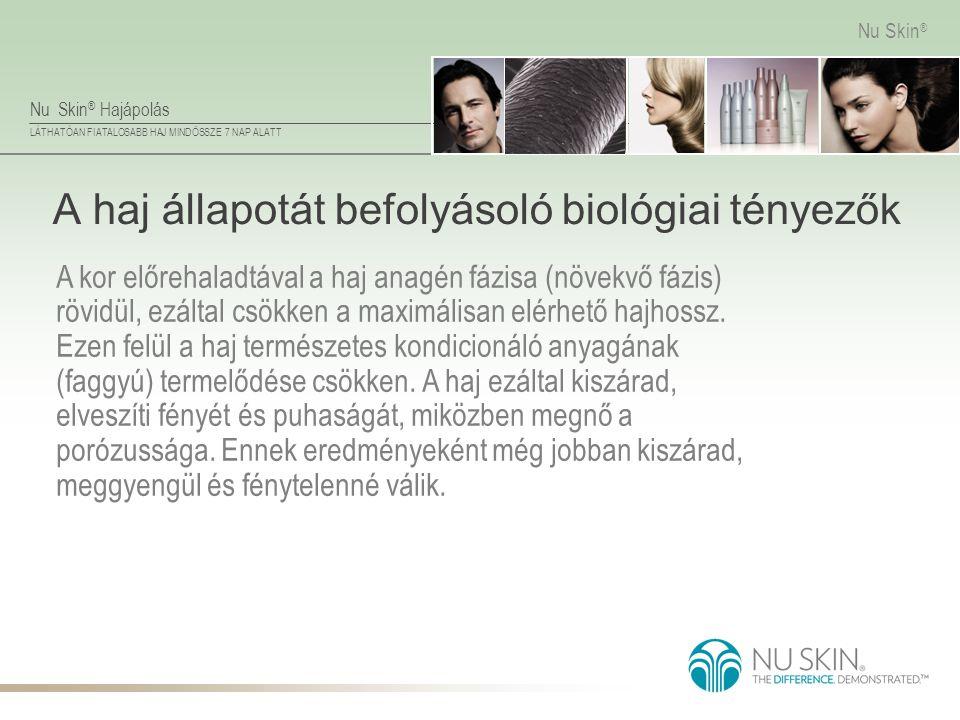 A haj állapotát befolyásoló biológiai tényezők