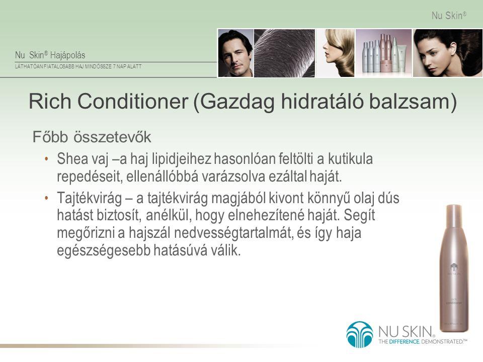 Rich Conditioner (Gazdag hidratáló balzsam)