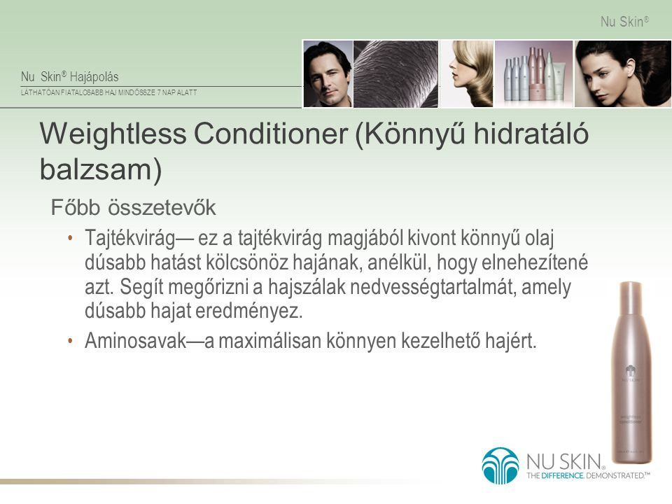 Weightless Conditioner (Könnyű hidratáló balzsam)