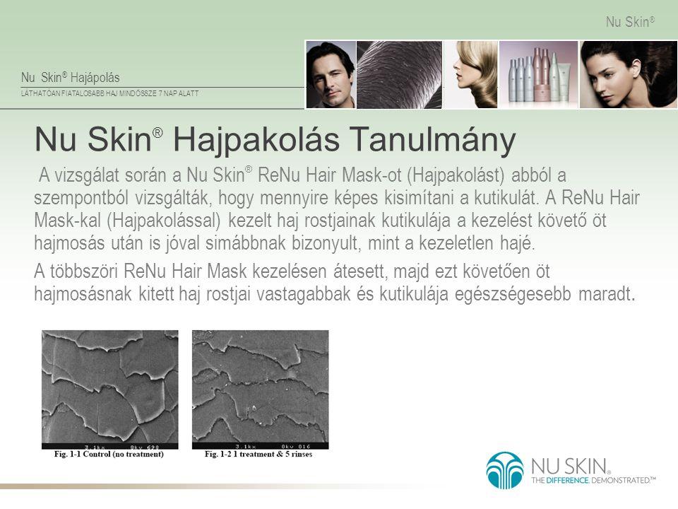 Nu Skin® Hajpakolás Tanulmány