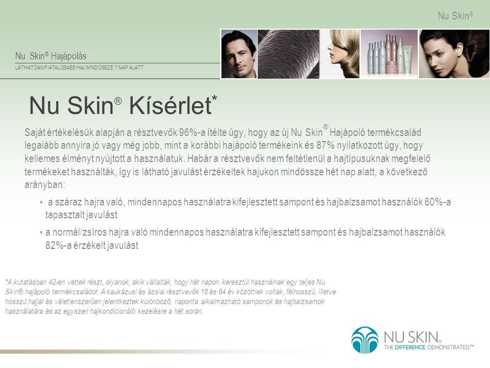 Nu Skin® Kísérlet*