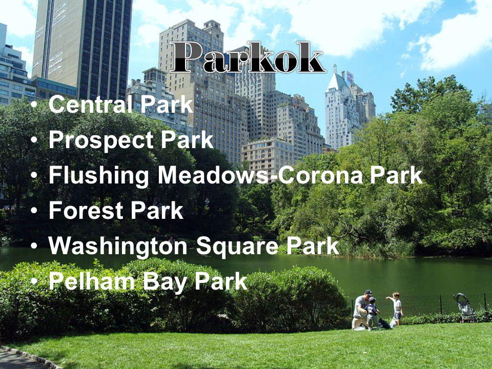 Parkok Central Park Prospect Park Flushing Meadows-Corona Park