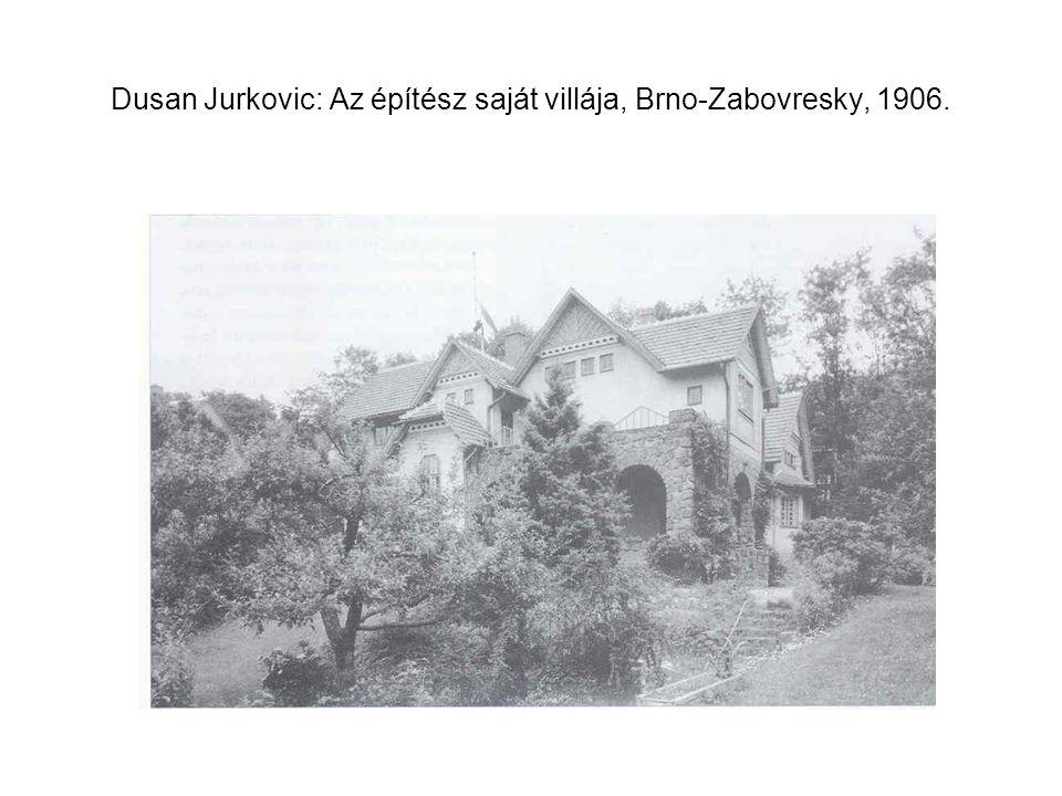 Dusan Jurkovic: Az építész saját villája, Brno-Zabovresky, 1906.