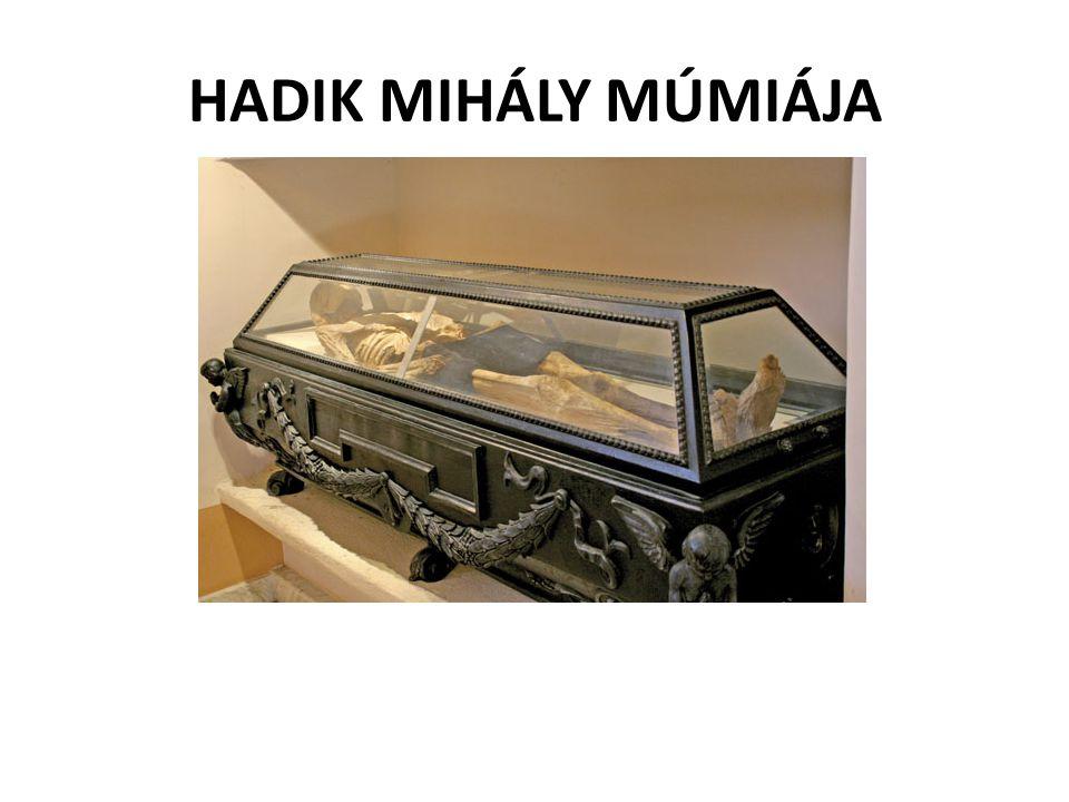 HADIK MIHÁLY MÚMIÁJA