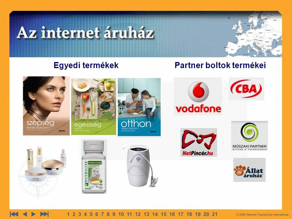Egyedi termékek Partner boltok termékei