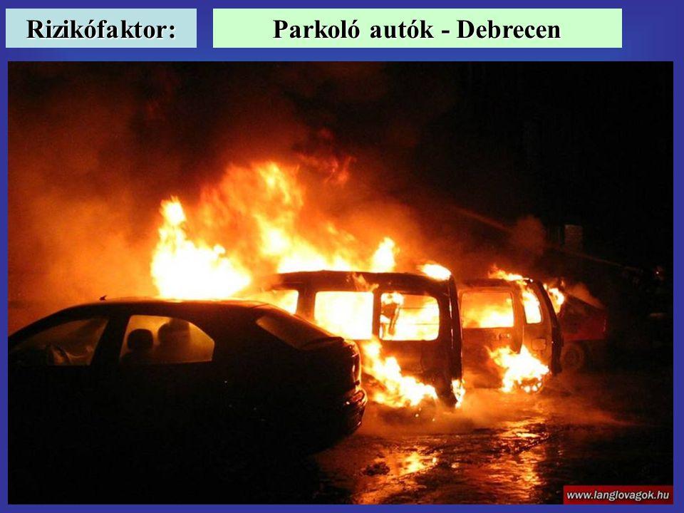 Parkoló autók - Debrecen