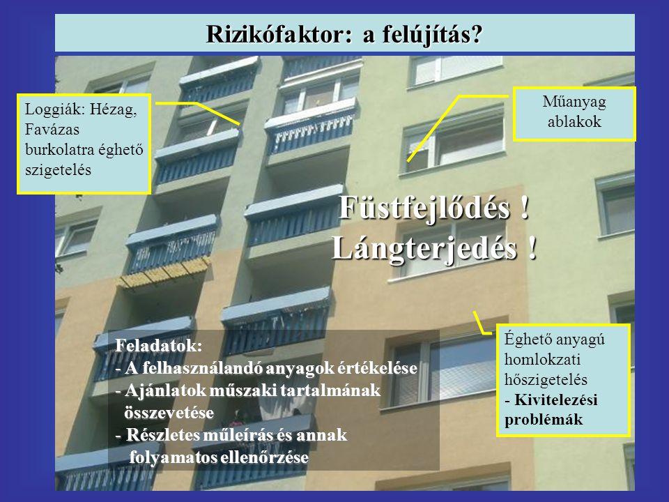 Rizikófaktor: a felújítás