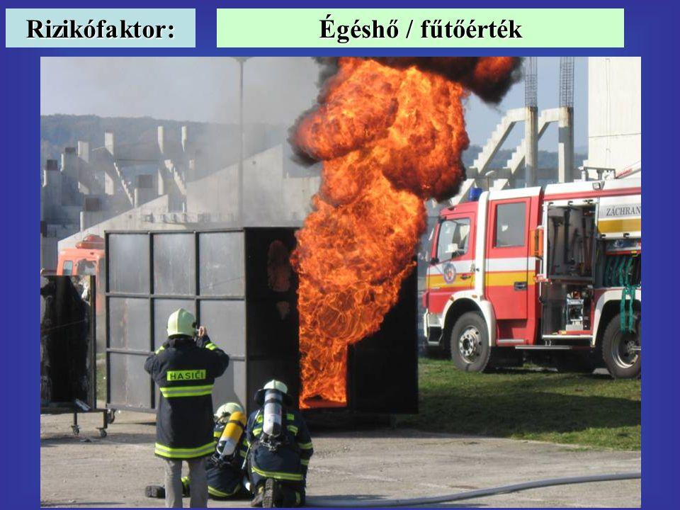 Rizikófaktor: Égéshő / fűtőérték