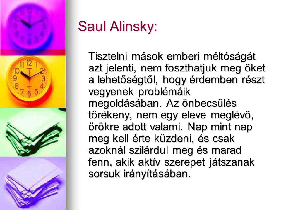 Saul Alinsky: