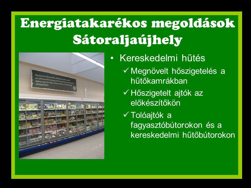 Energiatakarékos megoldások Sátoraljaújhely