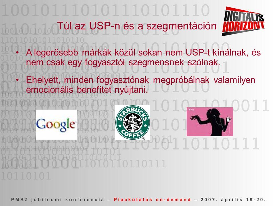 Túl az USP-n és a szegmentáción