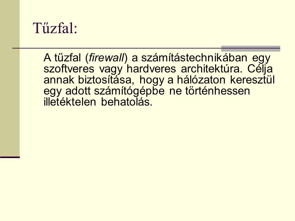 Tűzfal: