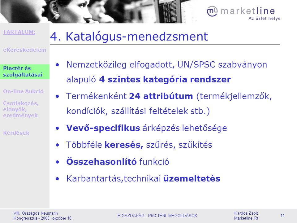 4. Katalógus-menedzsment