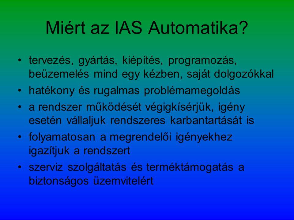 Miért az IAS Automatika
