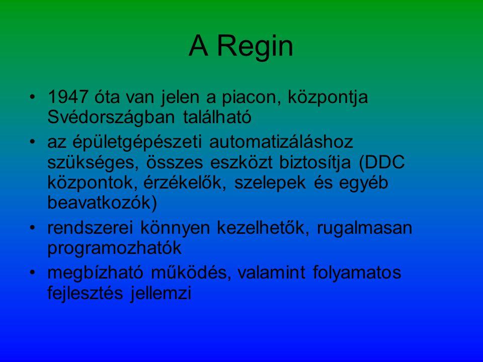 A Regin 1947 óta van jelen a piacon, központja Svédországban található