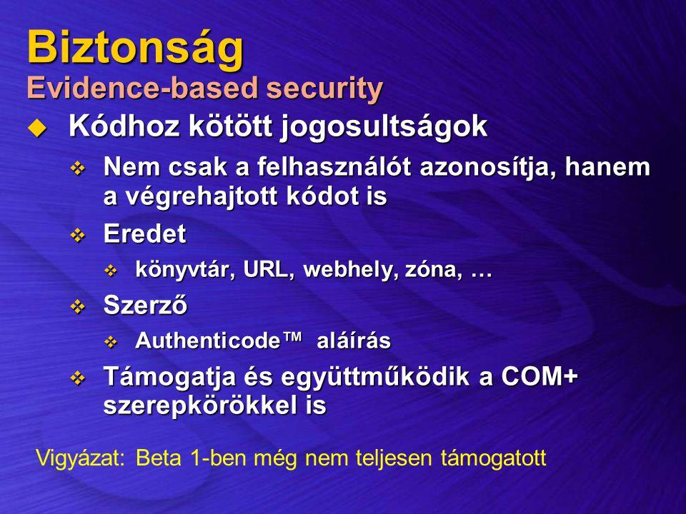Biztonság Evidence-based security