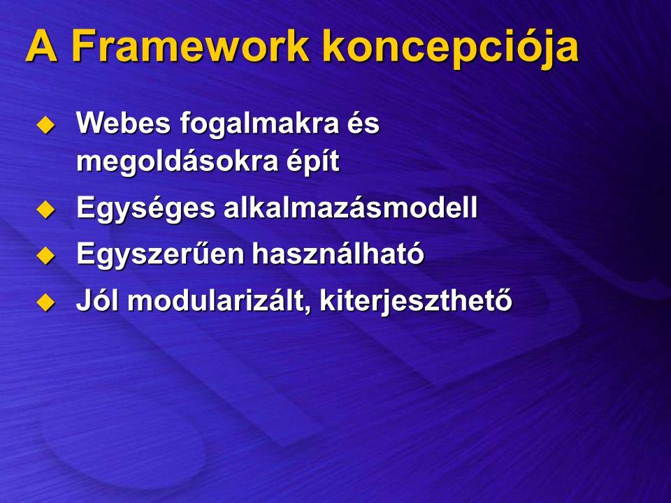 A Framework koncepciója