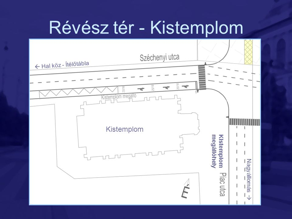 Révész tér - Kistemplom