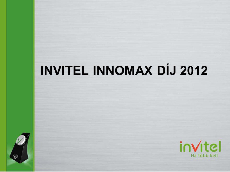 INVITEL INNOMAX DÍJ 2012