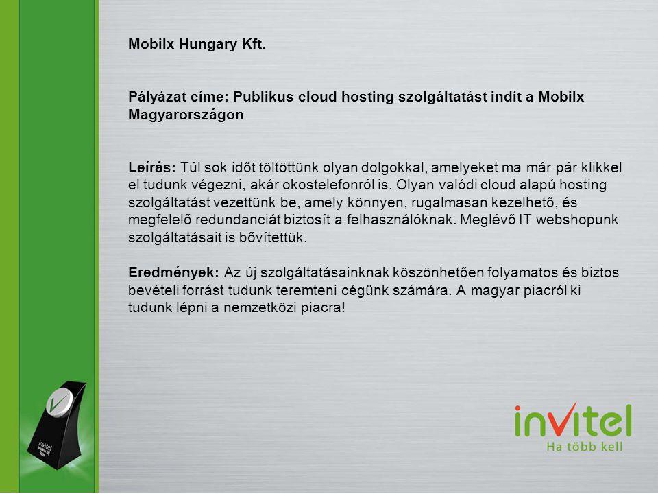 Mobilx Hungary Kft.