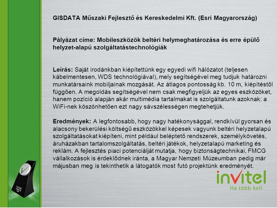 GISDATA Műszaki Fejlesztő és Kereskedelmi Kft